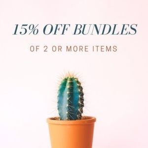 Other - 15% OFF BUNDLES OF TWO OR MORE ITEMS 🖤
